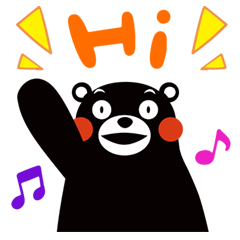 Kuma-mon (Useful stickers)