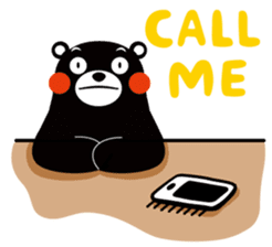 Kuma-mon (Useful stickers) sticker #9219048