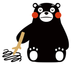 Kuma-mon (Useful stickers) sticker #9219065