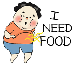 Kenji (Fat Everywhere) (Eng) sticker #9221459