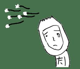 Dandelion Man sticker #9223394