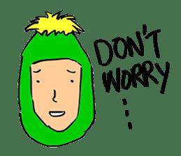 Dandelion Man sticker #9223416