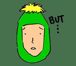 Dandelion Man sticker #9223418