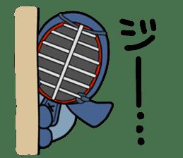 KENDO Samurai Boy 3 sticker #9223518