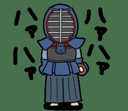 KENDO Samurai Boy 3 sticker #9223529