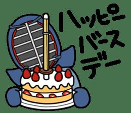 KENDO Samurai Boy 3 sticker #9223537