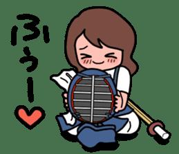 KENDO Samurai Boy 3 sticker #9223551