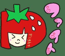 Second edition strawberry girl stickers. sticker #9225912