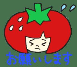 Second edition strawberry girl stickers. sticker #9225913