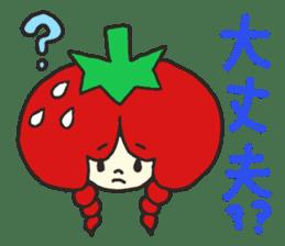 Second edition strawberry girl stickers. sticker #9225920
