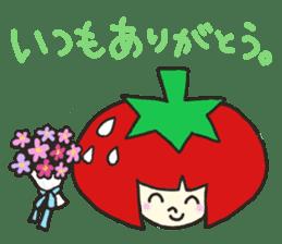 Second edition strawberry girl stickers. sticker #9225921