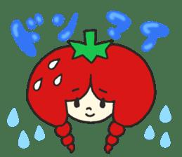 Second edition strawberry girl stickers. sticker #9225922