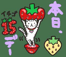 Second edition strawberry girl stickers. sticker #9225929