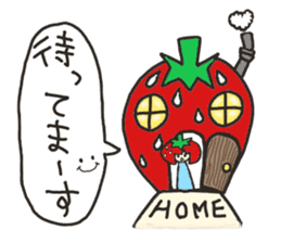 Second edition strawberry girl stickers. sticker #9225937