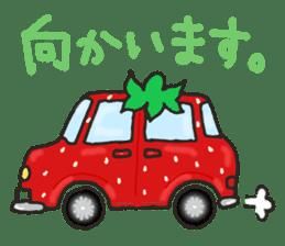 Second edition strawberry girl stickers. sticker #9225938