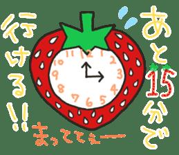 Second edition strawberry girl stickers. sticker #9225939