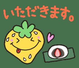 Second edition strawberry girl stickers. sticker #9225943