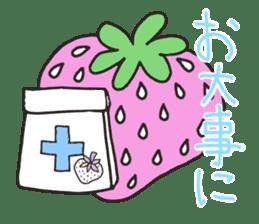 Second edition strawberry girl stickers. sticker #9225947