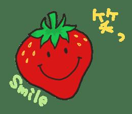 Second edition strawberry girl stickers. sticker #9225950