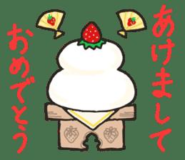 Second edition strawberry girl stickers. sticker #9225951