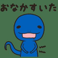 Mr. lizard sticker #9232109