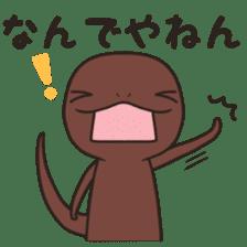 Mr. lizard sticker #9232130
