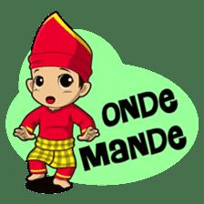 Uda Uni Bapantun sticker #9238202