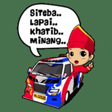 Uda Uni Bapantun sticker #9238212