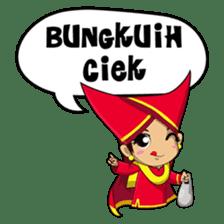 Uda Uni Bapantun sticker #9238218