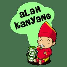 Uda Uni Bapantun sticker #9238221