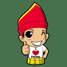 Uda Uni Bapantun sticker #9238232