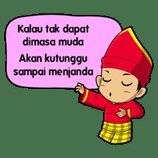 Uda Uni Bapantun sticker #9238233