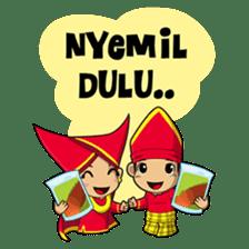 Uda Uni Bapantun sticker #9238238