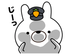 Rabbit Police sticker #9240274