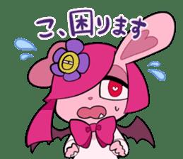 Vampire Bunny sticker #9251106