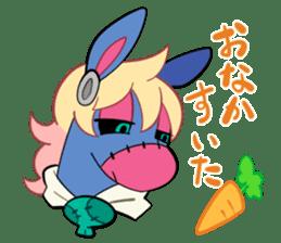 Vampire Bunny sticker #9251115
