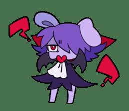Vampire Bunny sticker #9251121