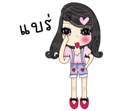 Pink cute sticker #9252942