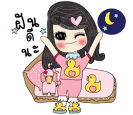 Pink cute sticker #9252965