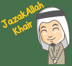 Alif Muslim Man sticker #9257016
