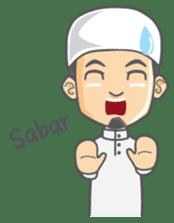 Alif Muslim Man sticker #9257020