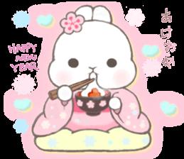 Momomochi Bunny Party sticker #9259416