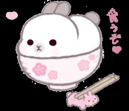 Momomochi Bunny Party sticker #9259417