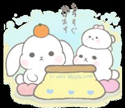 Momomochi Bunny Party sticker #9259419
