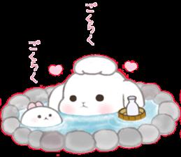 Momomochi Bunny Party sticker #9259422