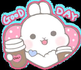 Momomochi Bunny Party sticker #9259424