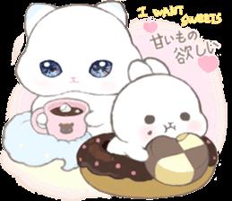 Momomochi Bunny Party sticker #9259426