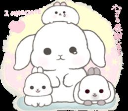 Momomochi Bunny Party sticker #9259431