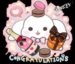 Momomochi Bunny Party sticker #9259433