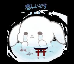 Momomochi Bunny Party sticker #9259435
